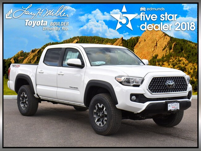 New 2019 Toyota Tacoma TRD Off Road V6 Truck Double Cab for sale in Boulder, CO