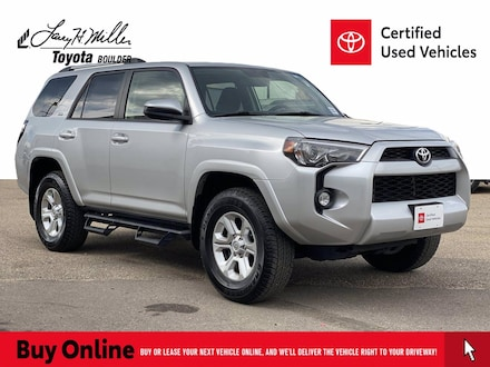 Featured Used 2019 Toyota 4Runner SR5 SUV for sale near you in Boulder, CO