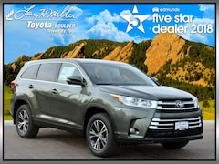 New 2019 Toyota Highlander LE Plus V6 SUV for sale near Boulder