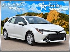 New 2019 Toyota Corolla Hatchback SE Hatchback for sale near Philadelphia