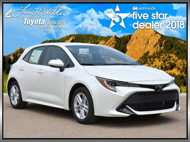 New Toyota 2019 Toyota Corolla Hatchback SE Hatchback for sale in Boulder, CO