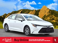 New 2021 Toyota Corolla Hybrid LE Sedan for sale near you in Boulder, CO