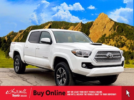 Featured Used 2017 Toyota Tacoma TRD Sport V6 Truck Double Cab for sale near you in Boulder, CO