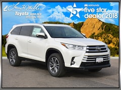 New 2019 Toyota Highlander XLE V6 SUV for sale near Boulder