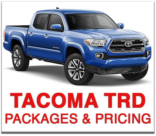 Boulder Toyota Tacoma TRD Pro Packages