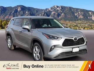 New 2021 Toyota Highlander LE SUV for sale near you in Colorado Springs, CO