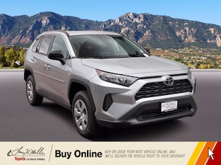 New 2021 Toyota RAV4 LE SUV for sale near you in Colorado Springs, CO