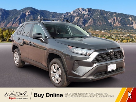 Featured New 2021 Toyota RAV4 LE SUV for sale near you in Colorado Springs, CO