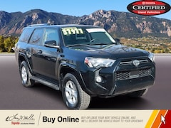 Certified Pre-Owned 2020 Toyota 4Runner SR5 Premium SR5 Premium 4WD for sale near you in Colorado Springs, CO