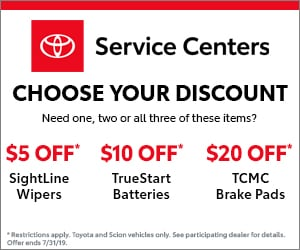 Toyota Service Coupons >> Toyota Service Specials Coupons Colorado Springs