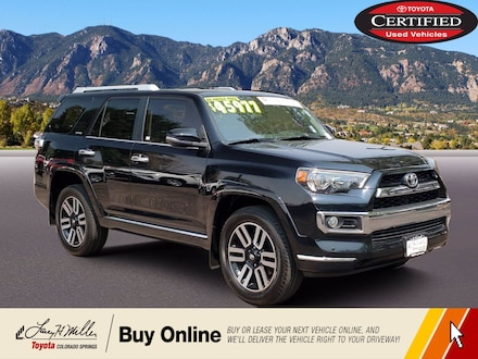 Featured Used 2018 Toyota 4Runner Limited Limited 4WD for sale near you in Colorado Springs, CO