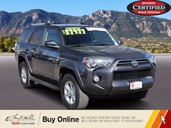 Certified Pre-Owned 2020 Toyota 4Runner SR5 SR5 Premium 4WD for sale near you in Colorado Springs, CO