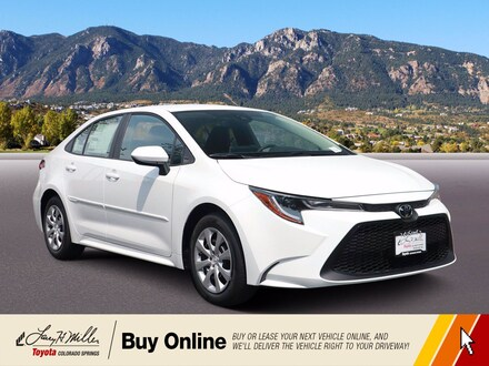 Featured New 2021 Toyota Corolla LE Sedan for sale near you in Colorado Springs, CO