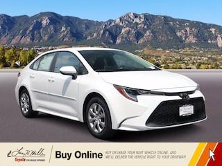 New 2021 Toyota Corolla LE Sedan for sale near you in Colorado Springs, CO