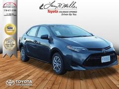 New 2019 Toyota Corolla LE Sedan Colorado Springs