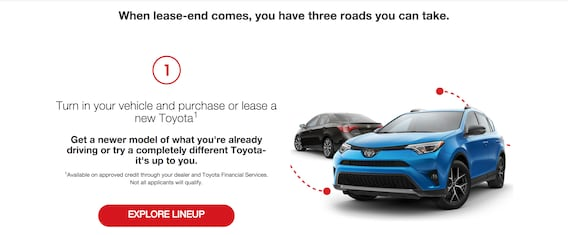 Toyota Lease Calculator >> What To Do When Your Lease Is Up Shop For A Toyota In Colorado