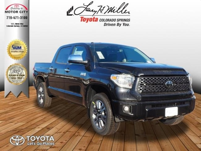 New 2019 Toyota Tundra Platinum 5.7L V8 Truck CrewMax Colorado Springs