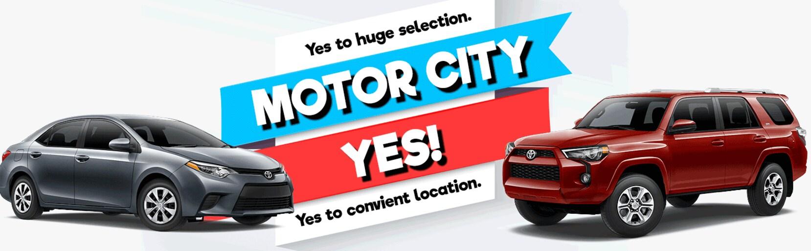 Larry h miller toyota colorado springs toyota car dealer for Toyota motor city colorado springs