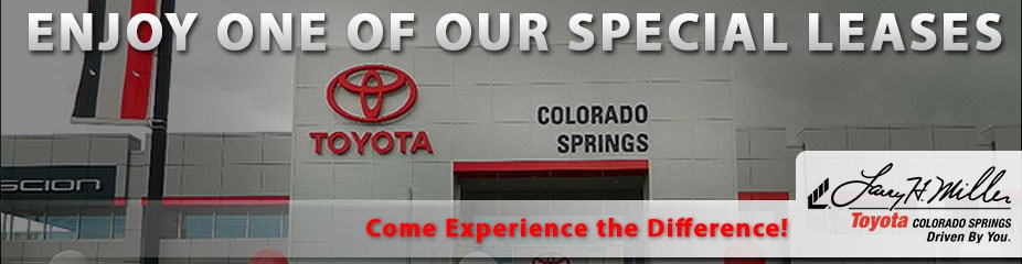 Toyota Lease Colorado Springs