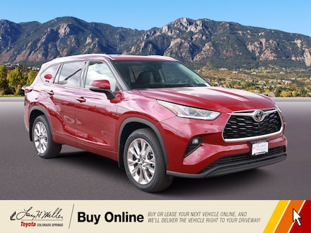 Featured New 2020 Toyota Highlander Limited SUV for sale near you in Colorado Springs, CO