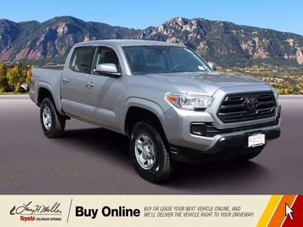 Featured Used 2018 Toyota Tacoma SR5 SR5 Double Cab 5' Bed V6 4x4 AT for sale near you in Colorado Springs, CO