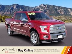 Used 2017 Ford F-150 Platinum for sale near you in Colorado Springs, CO