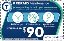 Prepaid Maintenance Special