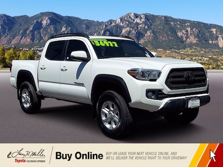 Featured Used 2016 Toyota Tacoma SR5 4WD Double Cab V6 AT SR5 for sale near you in Colorado Springs, CO