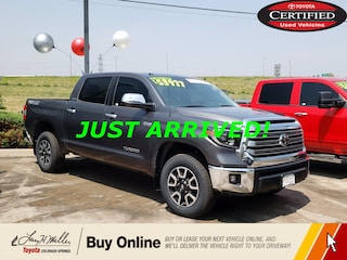 2019 Toyota Tundra Limited Limited CrewMax 5.5' Bed 5.7L