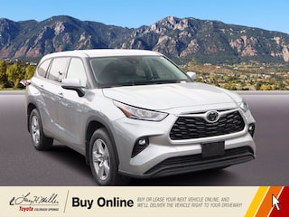 New 2020 Toyota Highlander LE SUV for sale near you in Colorado Springs, CO