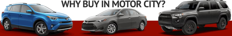 New Toyota for Sale in Motor City