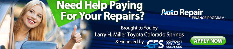 Colorado Springs Auto Repair Financing