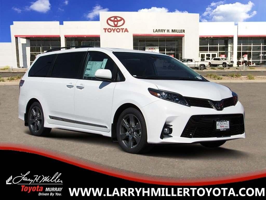 New Toyota Special 2019 Toyota Sienna SE Van available in Murray, UT