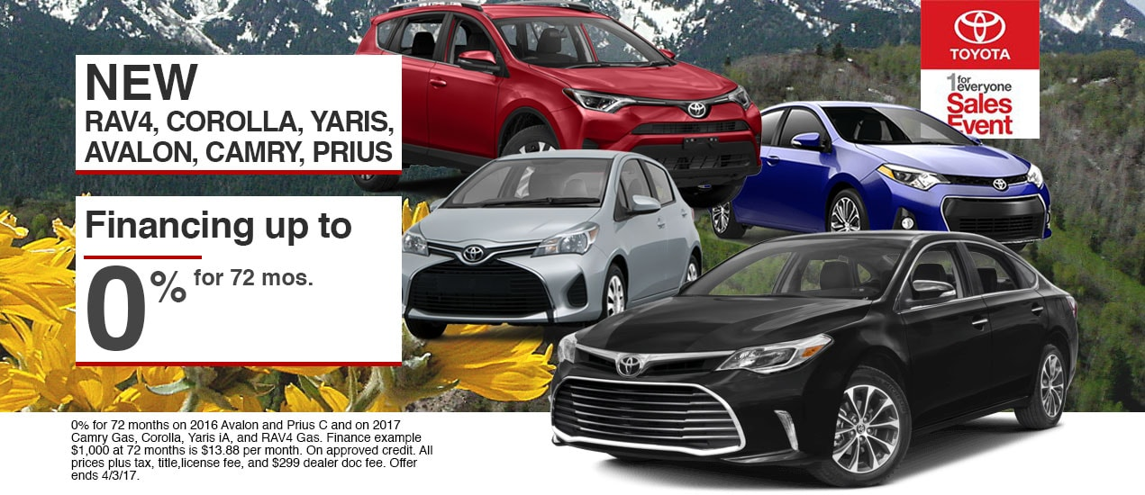 save with our 1 for everyone sales event at lhm toyota murray. Black Bedroom Furniture Sets. Home Design Ideas