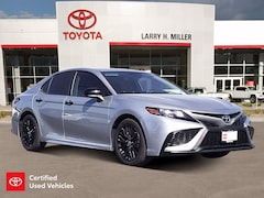 Certified Pre-Owned 2021 Toyota Camry SE Nightshade Sedan for sale near you in Murray, UT