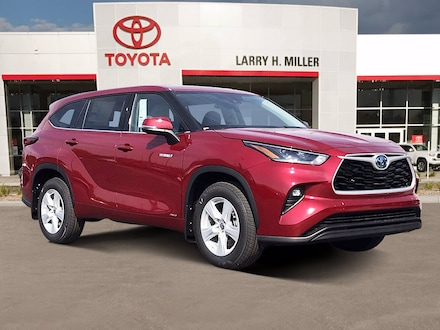 New Toyota Special 2021 Toyota Highlander Hybrid LE SUV available in Murray, UT