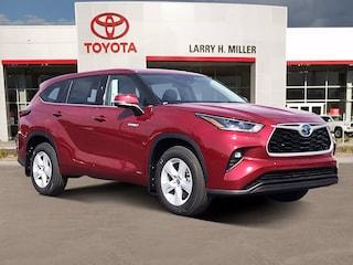 New 2021 Toyota Highlander Hybrid LE SUV for sale near you in Murray, UT