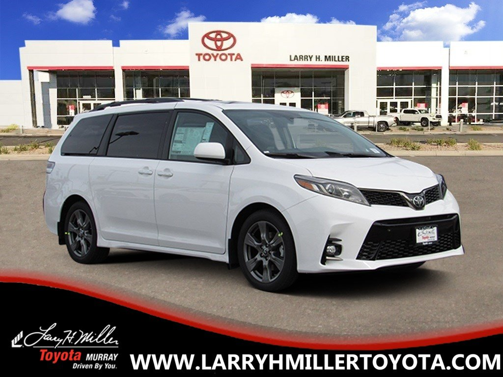 New Toyota Special 2019 Toyota Sienna SE Premium Van available in Murray, UT