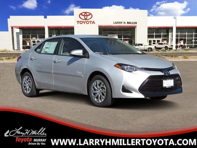 New Toyota 2019 Toyota Corolla LE Sedan for sale in Murray, UT