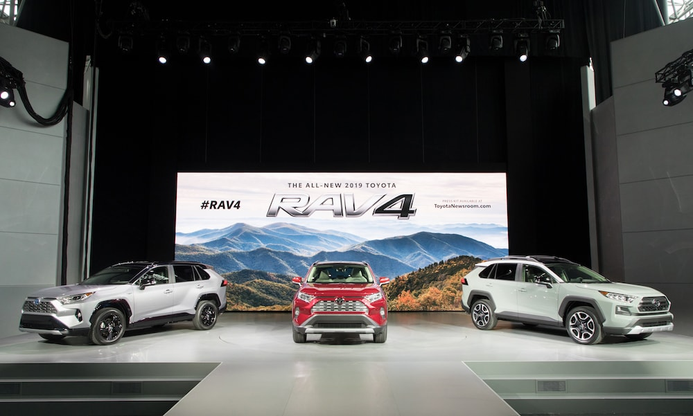 Toyota introduces the all-new 2019 Toyota RAV4
