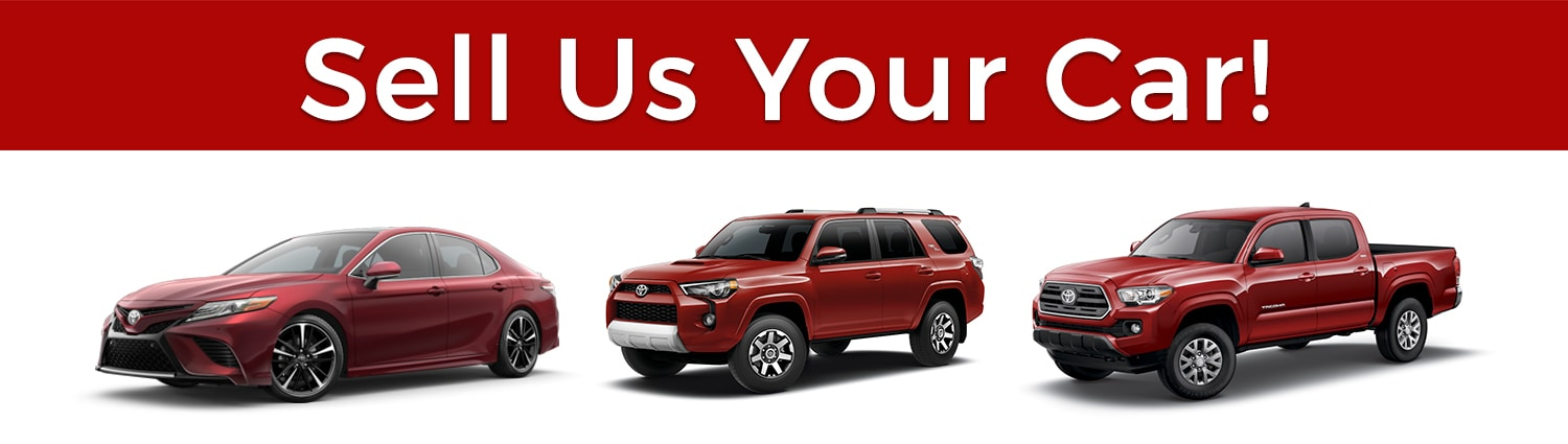 Trade-in your Camry, 4Runner, Tacoma at Larry H. Miller Toyota Murray