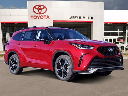 New Toyota Special 2021 Toyota Highlander XSE SUV available in Murray, UT