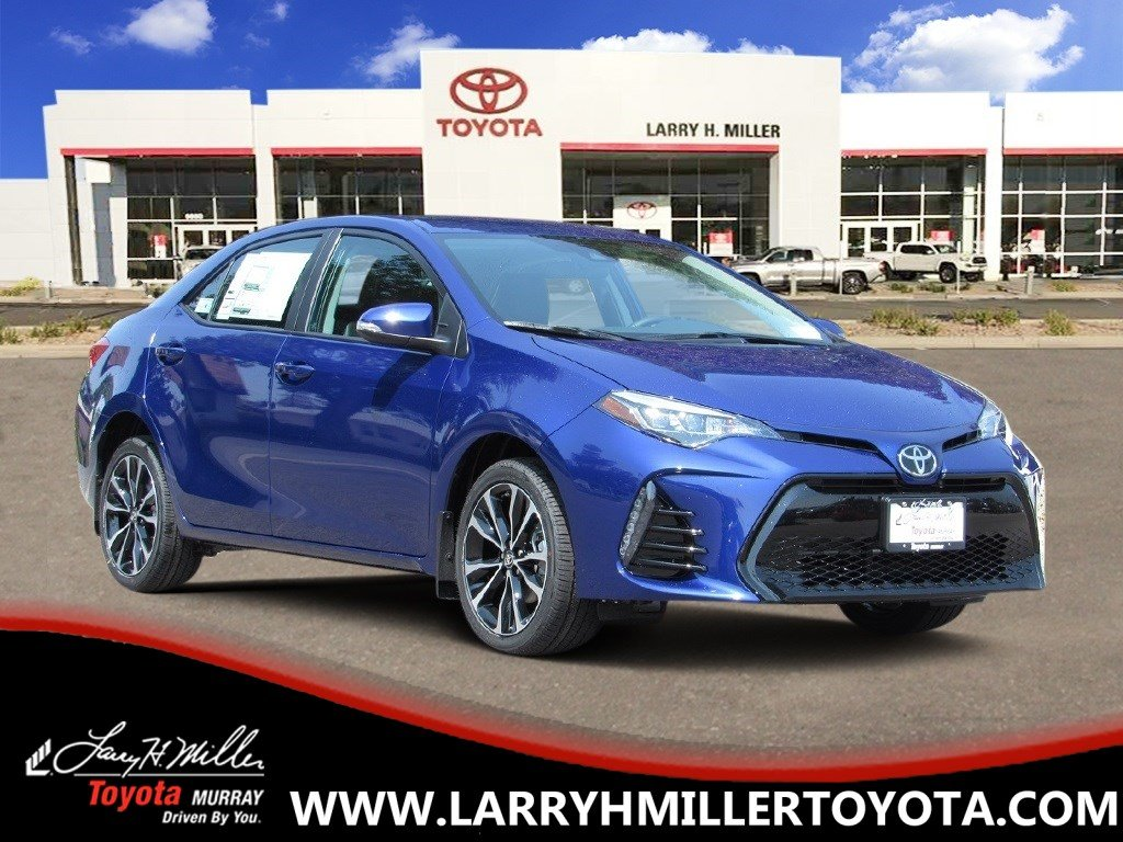 New Toyota Special 2019 Toyota Corolla SE Sedan available in Murray, UT
