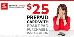 $25 Prepaid Card