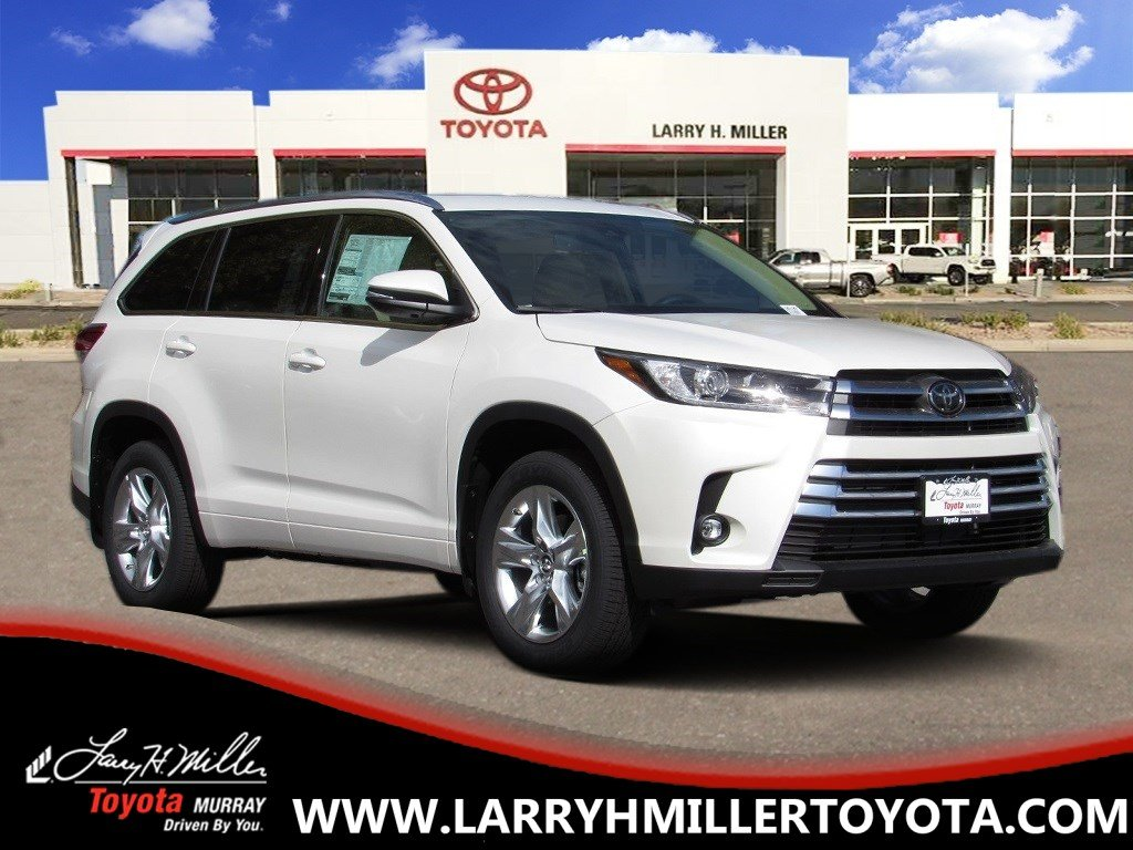 New Toyota Special 2019 Toyota Highlander Limited SUV available in Murray, UT