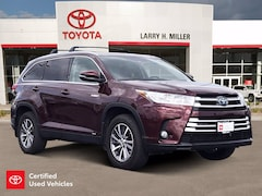 Certified Pre-Owned 2019 Toyota Highlander Hybrid XLE V6 SUV for sale near you in Murray, UT