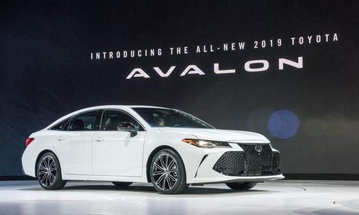 Toyota introduces the all-new 2019 Avalon