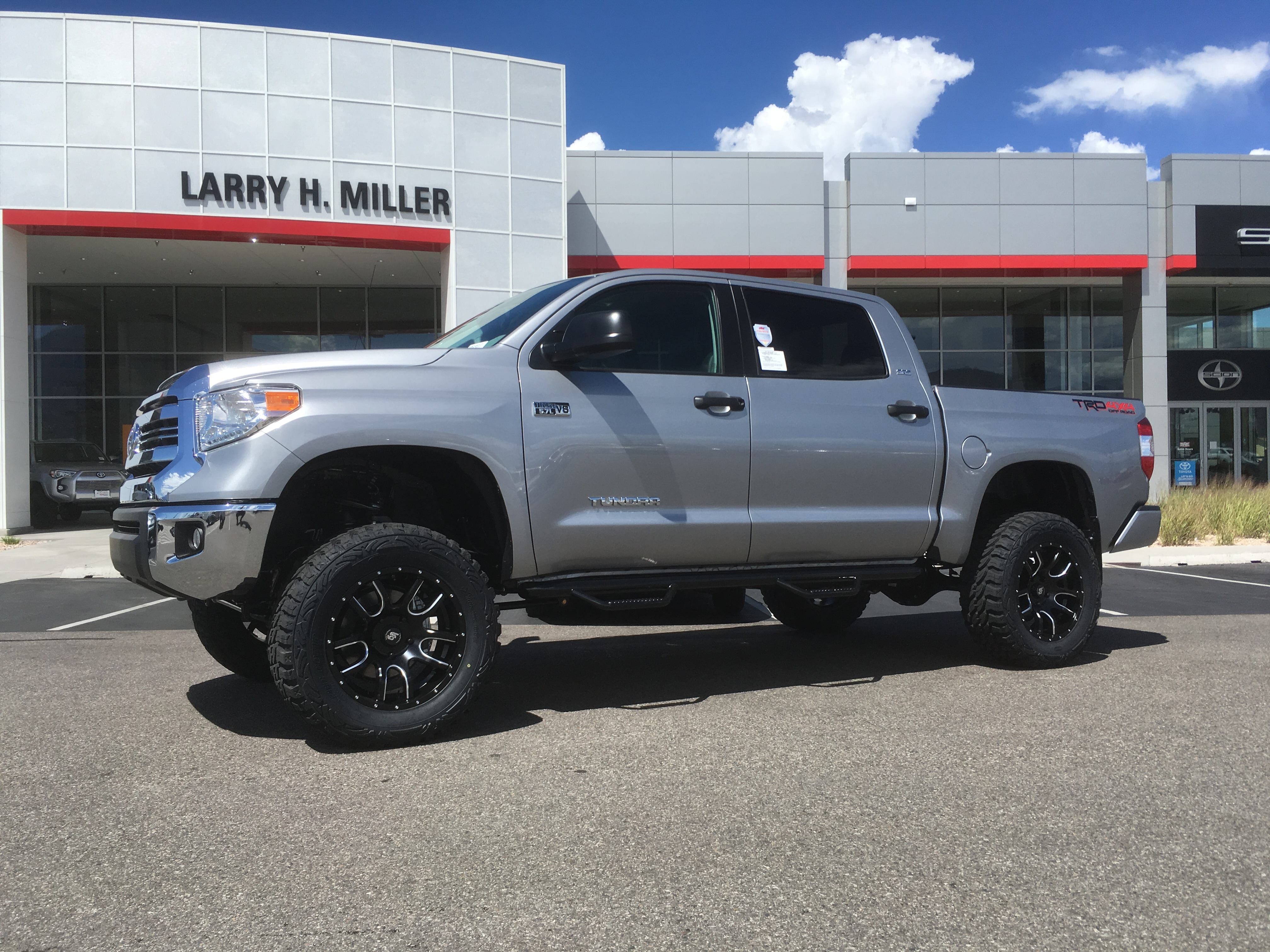 Custom Toyota Trucks Cars And Suvs Larry H Miller Murray 2004 Truck Lifted The Customized