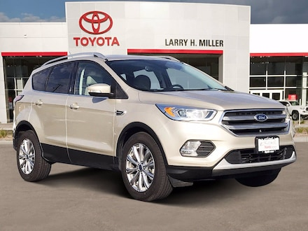 Pre-owned Vehicle Special 2017 Ford Escape Titanium SUV for sale in Murray, UT