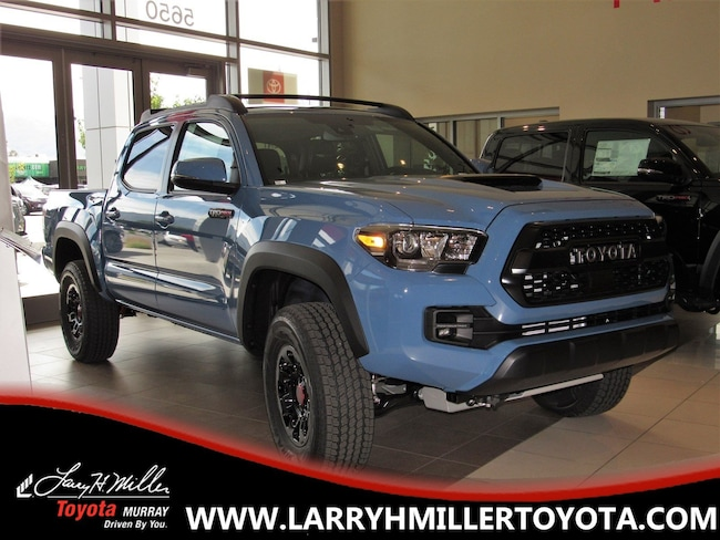 New Toyota 2018 Toyota Tacoma TRD Pro V6 Truck Double Cab for sale in Murray, UT